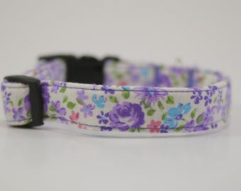 Lavender Floral Collar