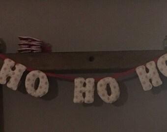 HOHOHO Festive Bunting