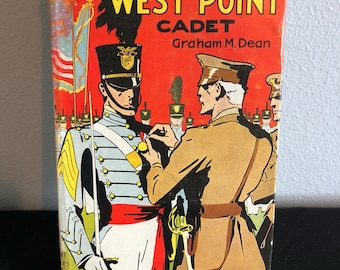 1936 Herb Kent West Point Cadet By Graham M. Dean With Dust Cover