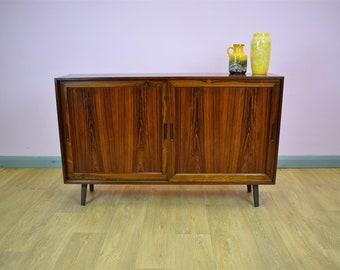 Mid Century Retro Danish Rosewood Poul Hundevad Sideboard TV Cabinet 1970s