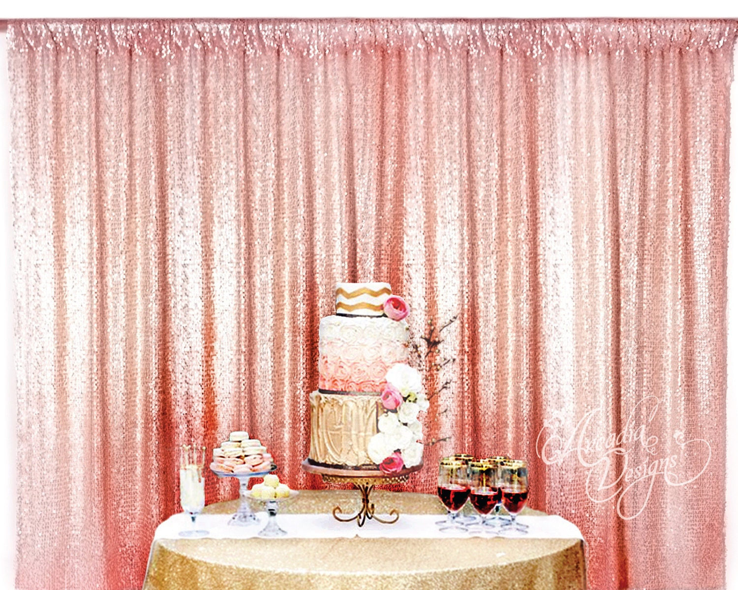 Sequin Backdrop Made To Order 45 Colors Sequin Backdrop For