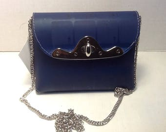 Clutch purse with chain (small)