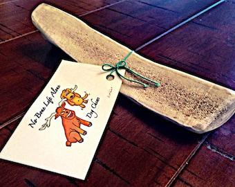 Split elk antler dog chew toys by the pound