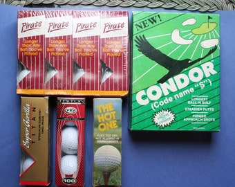 Golf Balls...Red Hot Golf Balls, not legal for Tour Pro's or tournament play but fun for weekends with your buddies.