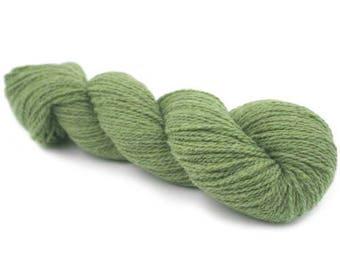 SALE New York 100 % Organic Merino Wool - Olive Melange