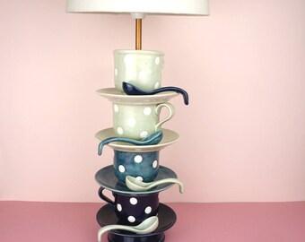 Teacup Lamp | Ceramic Table Lamp