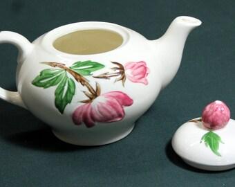 Contintental Kilns Green Arbor Teapot (1950s)