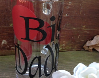 Monogram, Beer Mug, Personalized Beer Mug, Vinyl Lettering