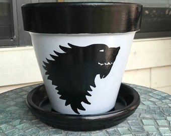 Game of Thrones Stark Flower Pot