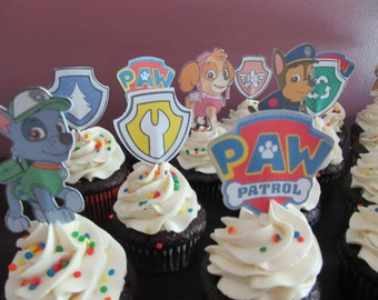 Paw Patrol Cupcake Liners Par Partol Party Kids Parties Dog Party