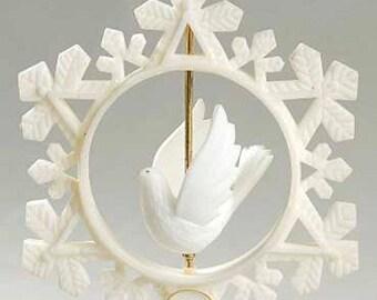 Vintage Hallmark 1978 Keepsake Twirling Dove Ornament