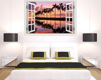Miami - Window Art Print