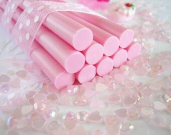 10pcs - Strawberry Pink Decoden Mini Glue Sticks (102mm) MG10002