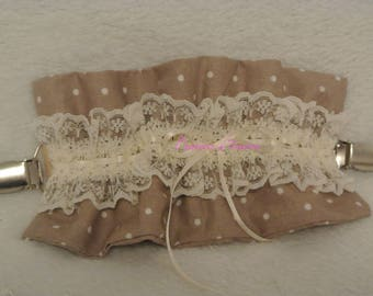 martingale fabric and lace