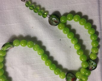 Hand made glass prayer beads