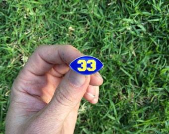 33 Riggs - Soft Enamel Lapel Pin