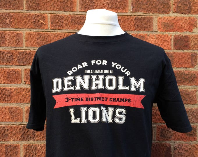 The Denholm Lions were the football team in Stephen kings 112263 novel and we at Nameless City Apparel wanted to make you a t shirt for them
