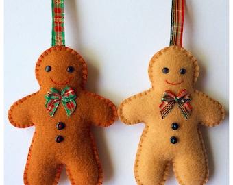 Gingerbread Man pdf Sewing Pattern
