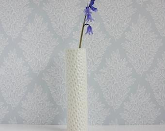 Bud Vase, flower vase, vase, contemporary flower vase, celadon, pale blue, modern pottery vase, wedding, birthday, Mother's Day