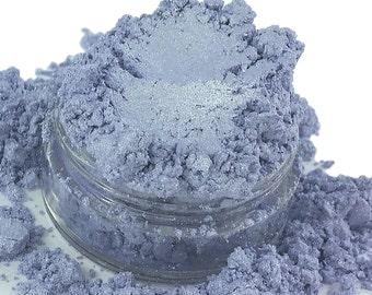 Spanked light Purple  Lilac Mineral Eye Shadow 10g Sifter Jar Gray eyeshadow Vegan Natural mineral Mica Makeup
