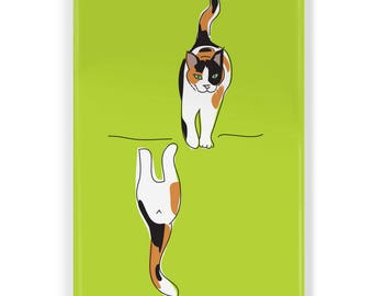Clean Dirty Dishwasher Magnet with Kitty Cats - Funny Cat Dishwasher Magnet, Black Cat, Orange Tabby, Calico and more