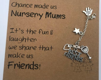 Nursery Mums / Friends - Keyring / Bag Charm