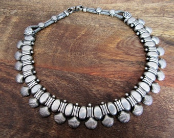 India Silver Necklace.Awesome Silver Necklace.