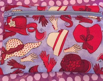 Red Hat Zipper Bag