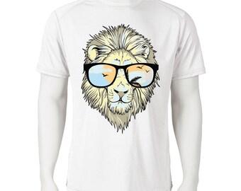 T-Shirt Lion Men Sublimation, T-Shirt for Men, Tshirt Men,  T-Shirt