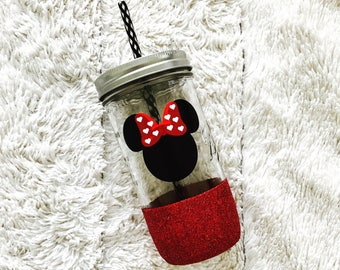 Disney Inspired Mason Jar Tumbler
