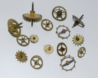 Steampunk Watch movements 15 pcs. watch parts watch details steampunk movements steampunk watch vintage watch steampunk gears