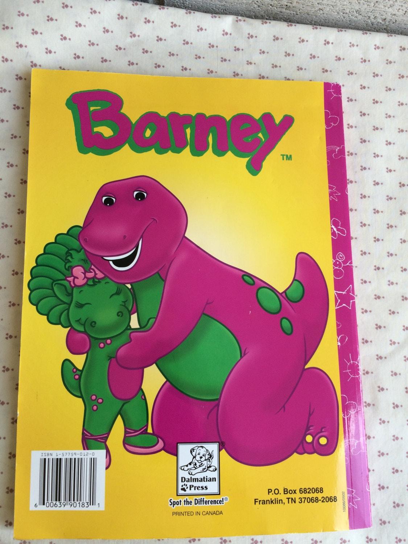 Barney Better que libro siempre para colorear, Barney libro, libro ...