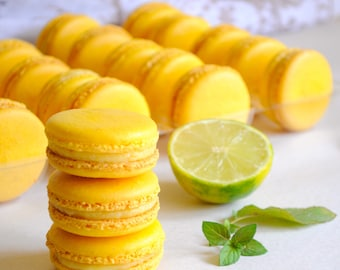 French Macarons, 24 edible macaroon, party, event, desert cookie, edible gift, favors, gluten free