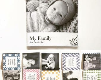 My Fabric Book - Custom Baby Book (8 - Photo Book)