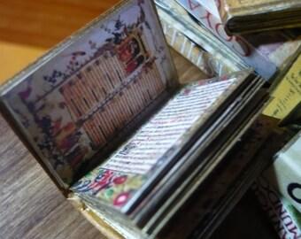 Miniature book Medieval códices