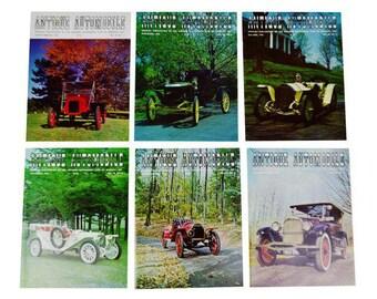 Antique Automobile Club of America Magazines 1966 Full Year Antique Automobile Club of America - Group of 6