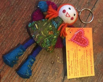Gutsy Ginger Keychain, Spread the Ginger love!