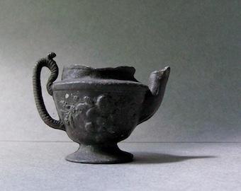 Tiny Vintage Teapot ~ Terrarium Accessory ~ Miniature