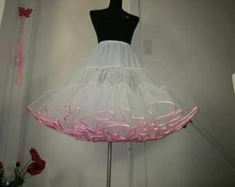 Petticoat 2 layer Crinoline, petticoat, underskirt, Tulle petticoat