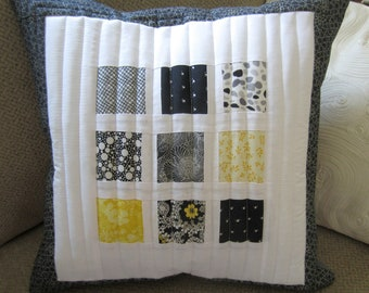 Quilted Toss Pillows, Toss Pillow, Quilted Pillow, White Quilted Pillow Cover, Custom Quilted Pillow, Pillow Cover, Pillow Covers,