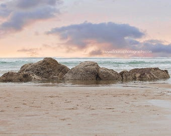 Ocean Rocks Digital Background, Instant Download, Backgrounds, Digital, Ocean and sky digital downloads