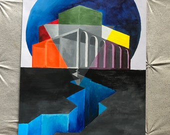 Surrealism Building
