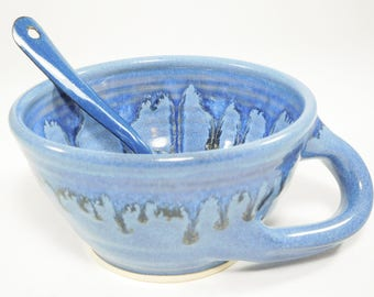 Large Soup Mug - Soup Bowl - Hand-Warming Soup Mug - Large Soup Bowl - Ceramic Soup Bowl - Soup Crock Bowl - Chili Bowl - In Stock