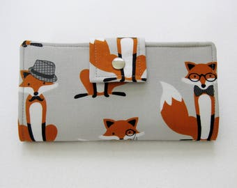 Fox Wallet, Ladies Wallet,  Womens   Wallet