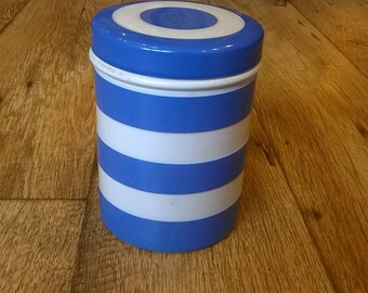 Cornishware Storage Jar TG Green