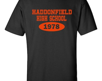Haddonfield High School HALLOWEEN COSTUME Trick or Treat Men's Tee shirt 495