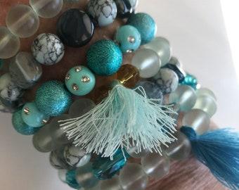 Lenora Dame 7 piece stretch bracelet set