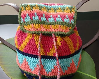 Forever Summer Beach Backpack PDF Downloadable Pattern