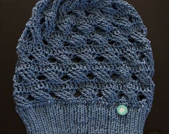 Demi-Season Cotton Beanie Hat