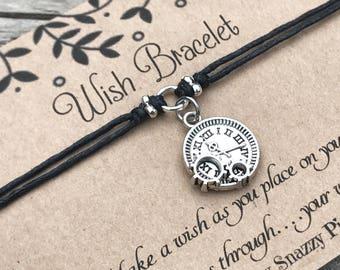 Steampunk Wish Bracelet, Make a Wish Bracelet, Wish Bracelet, Friendship Bracelet, Minimalist Jewelry, Steampunk Bracelet, Gift for Her